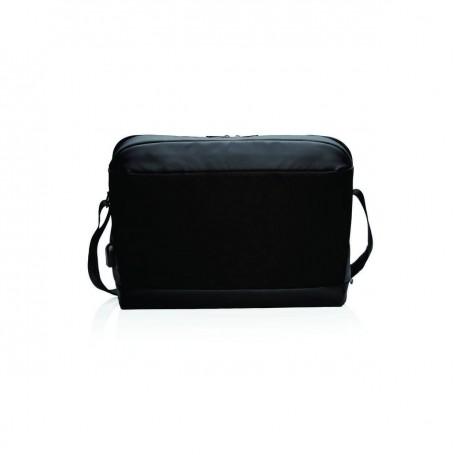 Geanta Laptop Madrid RFID&USB Negru 15.6 inch